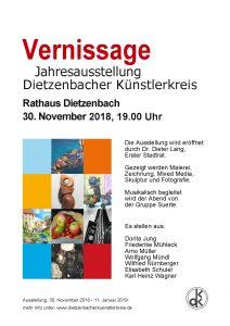 Vernissage Dietzenbacher Künstlerkreis 2018